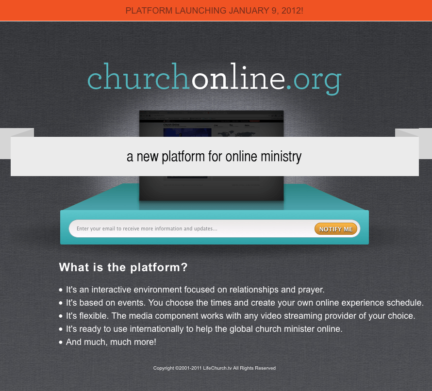 church online from LifeChurch.tv